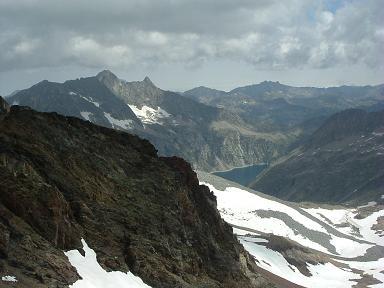 Du sommet du pic Maou, le pic de Néouvielle