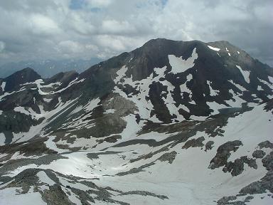 Du sommet du pic Maubic, le pic de Campbieil