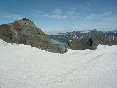 Du sommet du pic de Cerbillona, Vignemale, Piton Carré et Pointe Chausenque