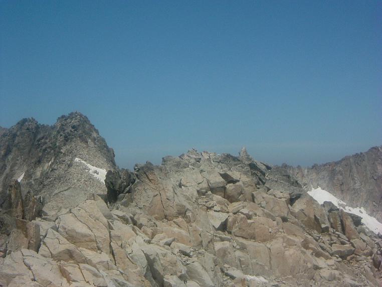 Sommet de la Punta Oliveras Arenas 3298 m