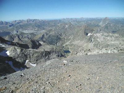 Du sommet du Balatous (3144 m), Retona, Collarada, Aspe, Visaurin, Arriel et Ossau