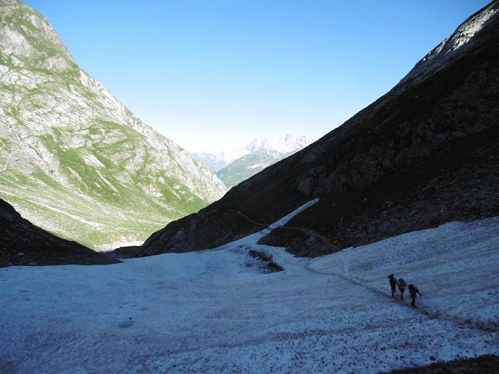 Traversée du Pont de Neige (2092 m)