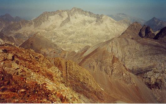 Du pico Central del Infierno, le Balaitous