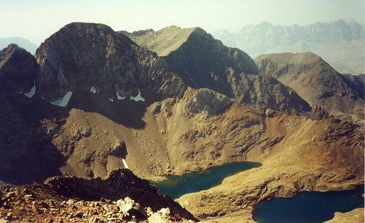 Du pico Central del Infierno, le Garmo Negro