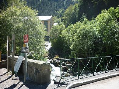 14 h30, retour au Pont du Prat 1229 m