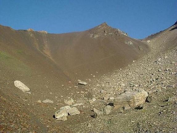 Le haut du vall de Llauset, un paysage lunaire