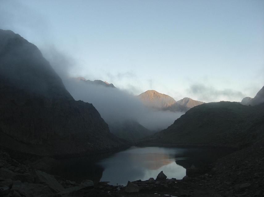 Passage au-dessus du lac de Pouchergues