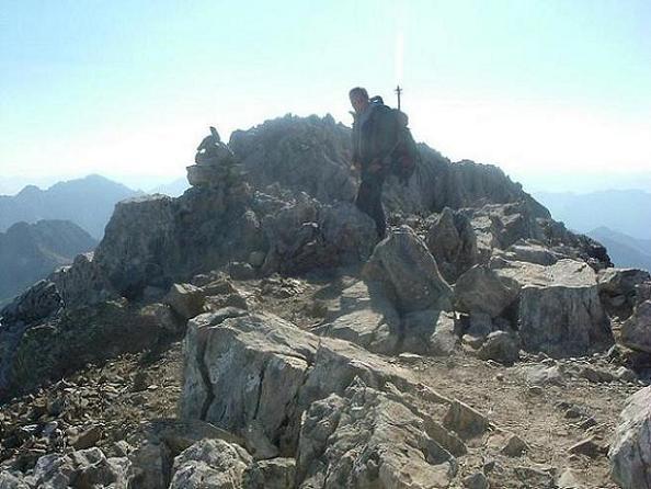 Arrivée au sommet de la Tuca de las Culebras 3062 m