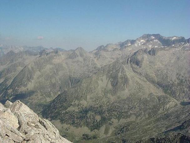 Du Ballibierna 3067 m, pico Maldito