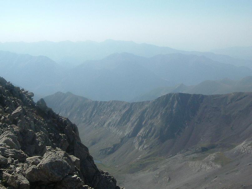 Du Ballibierna 3067 m, le vall de Llauset