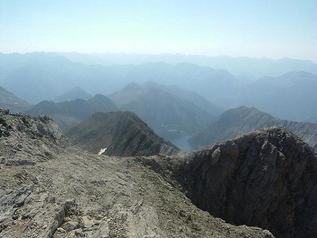 Du Ballibierna Nord 3030 m, l Estany de llauset