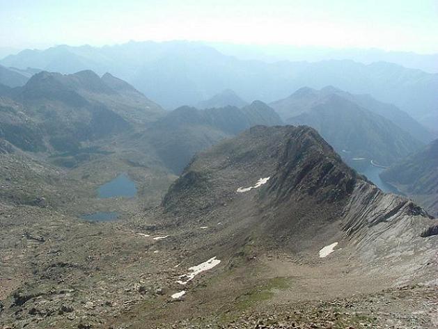 Du Ballibierna Nord 3030 m, Estanyets de Coma Arnau et Estany de Llauset
