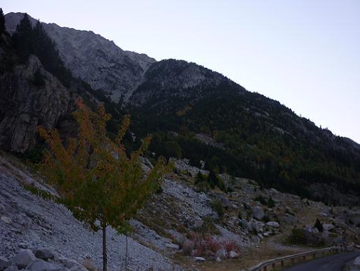 Départ de la piste du Vall de Comalesbienes