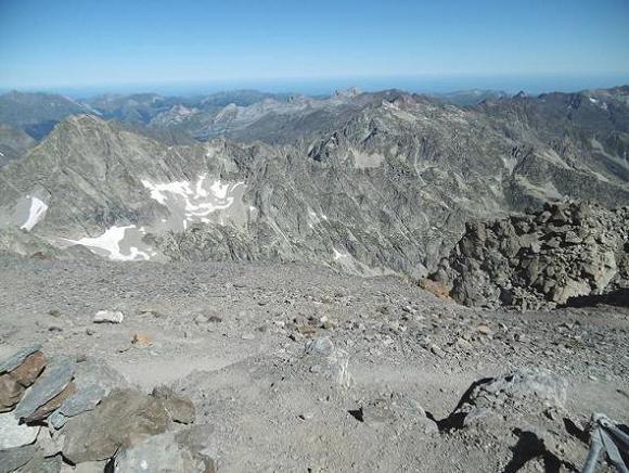 Du sommet du Balatous (3144 m), Sesques, Palas, Ger, Tourettes