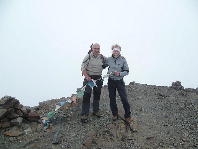 Au sommet du Gran Bachimala (3177 m)