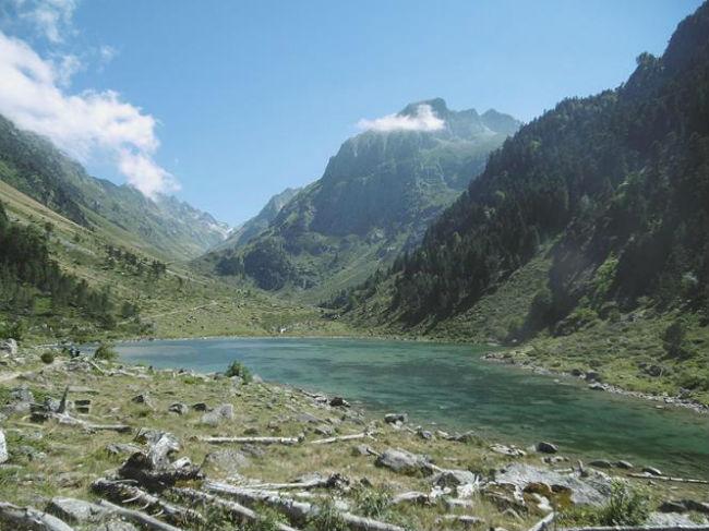 Passage au lac de Suyen (1536 m)