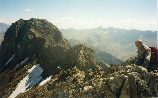 Du pico de Algas, le pico de Argualas