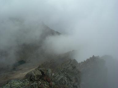 Du sommet du pic Badet, la crête et les Gourgs de Cap de Long