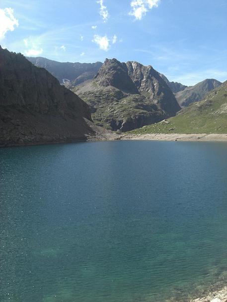 Retour au lac de Pouchergues