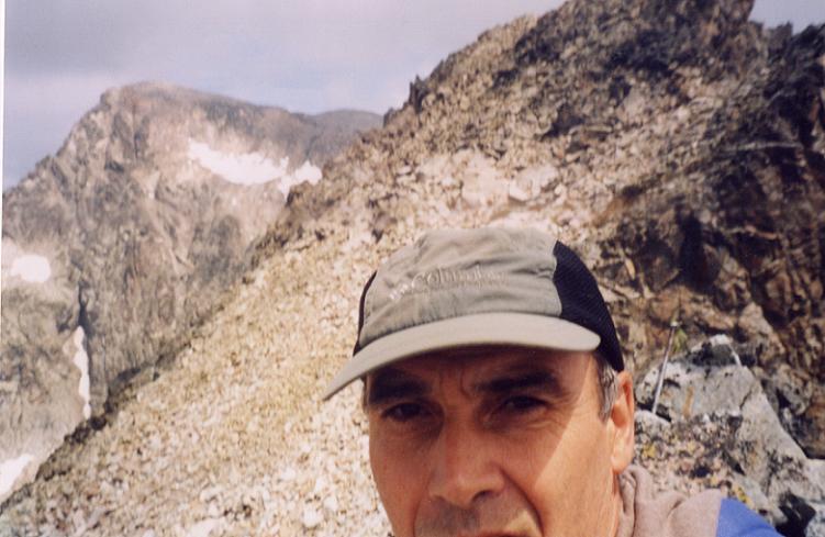 D une pointe anonyme sur la crête, d environ 3000 m, la Frodella Central et le Balaitous