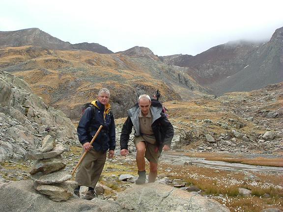 Passage à l étang coté 2591 m