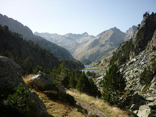 Descente du Vall de Colieto