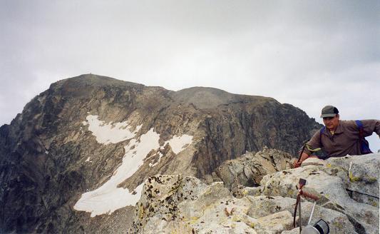 Du sommet du pico de la Frondella, le Balaitous