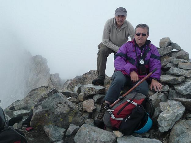 Sommet du pic Maubic 3058 mètres