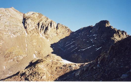 Du collado de Pondiellos, les picos del Infierno et de Arnales