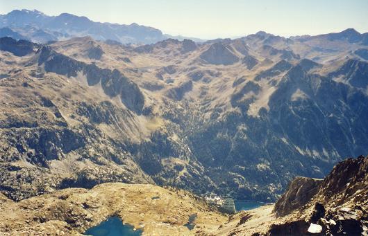 Du pico de Arnales, Monte Perdido et Balneario de Panticosa