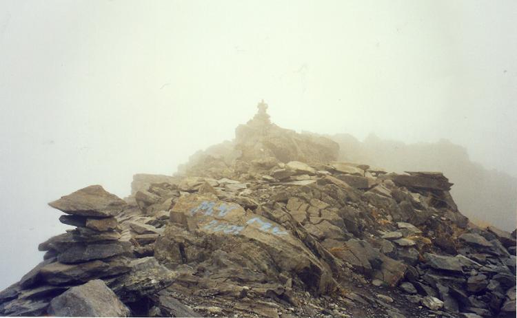 Au sommet du pic de Lustou 3023 m