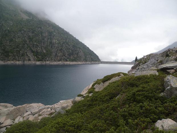 Retour vers le barrage du lac de Cap de Long où nous attend la voiture