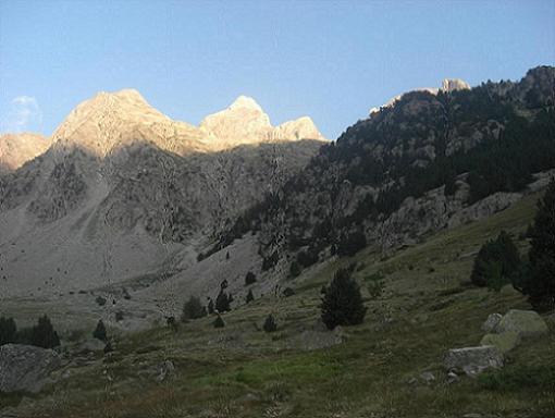 Depuis Mallata Baja de Argualas, le pico Argualas