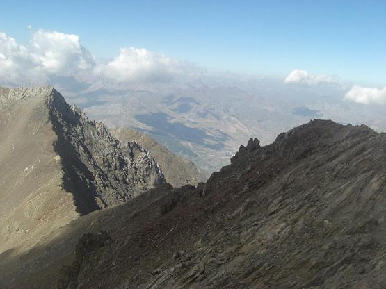 Du sommet du pico de Garmo Negro, le pico de Algas Norte