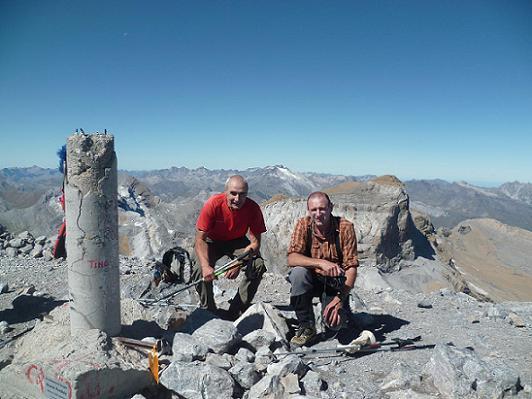 Sommet du Monte Perdido 3355 m